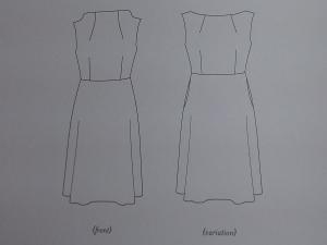 dress sketch