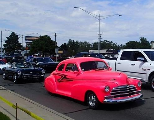 pink car dc
