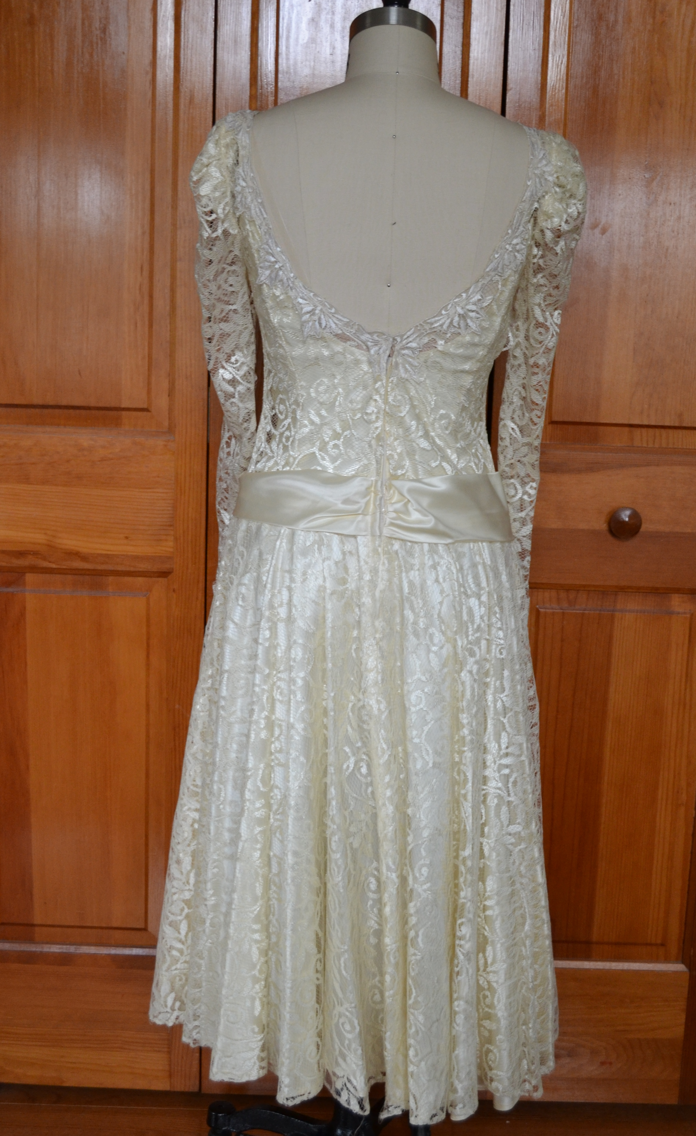 Sewing forward joining the conversation for Oxiclean wedding dress